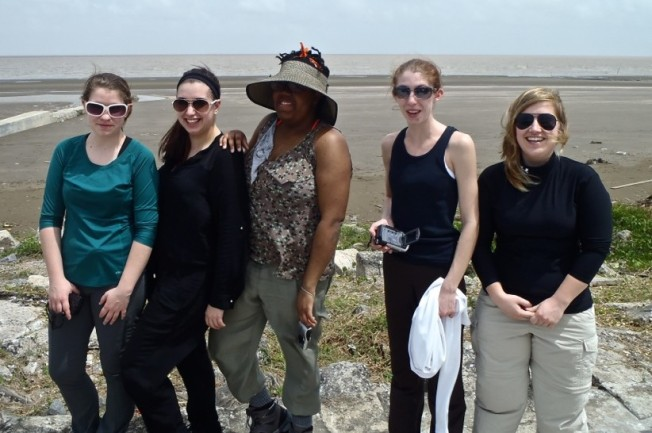 Cedar Crest Students Studying in Guyana