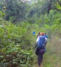 Hiking to Camp George